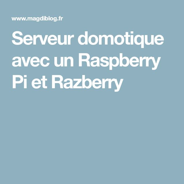 13 best Framboise images on Pinterest Computers, Diy electronics