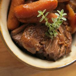 Dutch oven pot roast.  Use avocado oil and sweet potato instead.