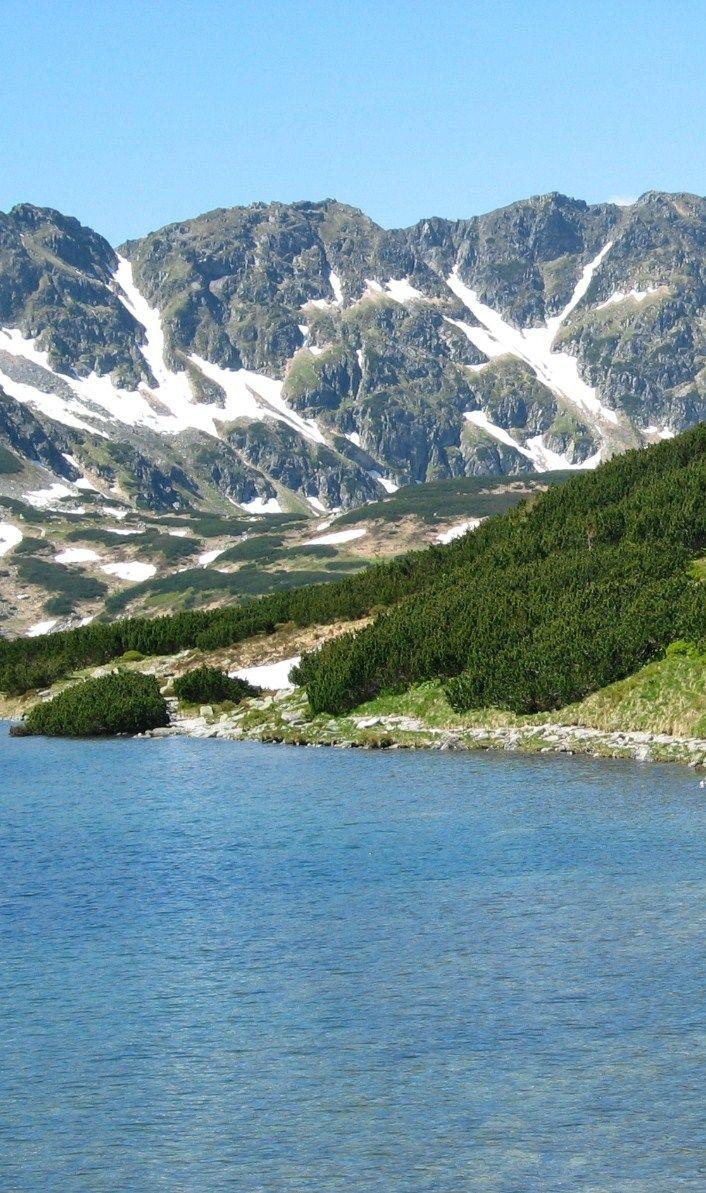 Polish mountain lakes