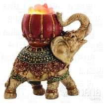 Lampara De Sal Elefante - Espectacular- Decoración Regalo