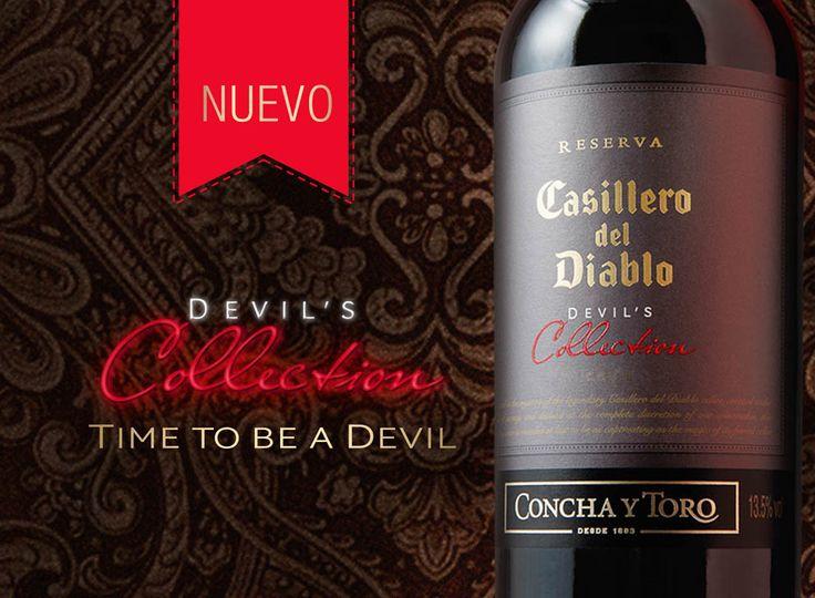 Promoción para catàlogo del Vino Devils Collection