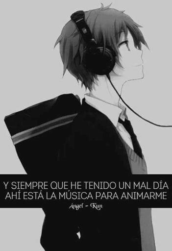 La música puede apoyarte en los momentos dificiles solo tienes que buscar la cancion perfecta para levantarte el animo! #amormusical