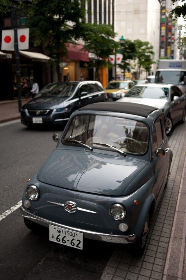 Fiat 500 in Japan