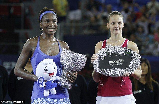 11/8/15 Via Kfish_WTA  ·   Venus Williams d. Karolina Pliskova 75 76 to win title at #WTAEliteTrophy. As a result, Venus will finish the year at No.7 in #WTA Rankings
