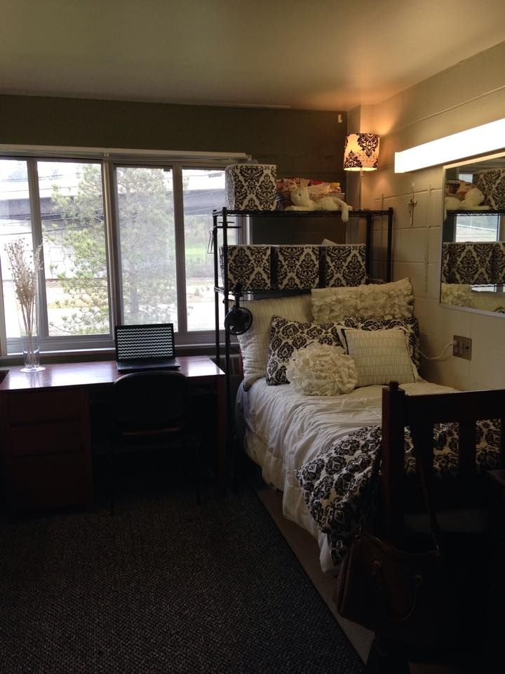 Cozy dorm room! Don't forget to get a student discount at ...