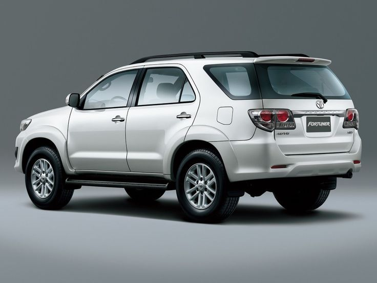 2016 Toyota Fortuner Render High Resolution Wallpapers