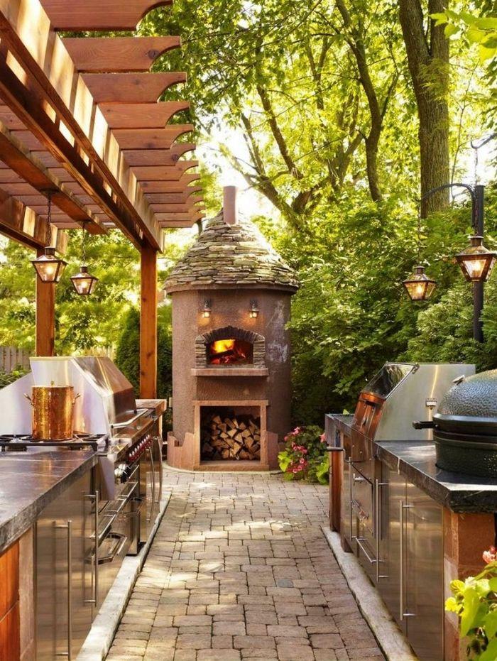 ▷ 1001 + designs splendides d\u0027une cuisine extérieure