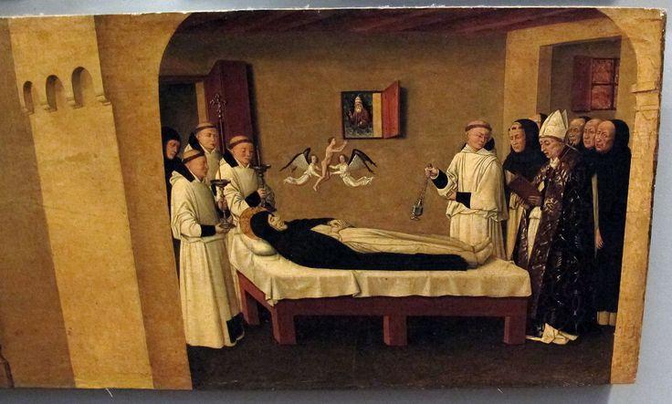 Colantonio, s. vincenzo ferrer e sue storie, 1460 ca., da s. pietro maggiore 08. Galleria Napoletana (Museo di Capodimonte).