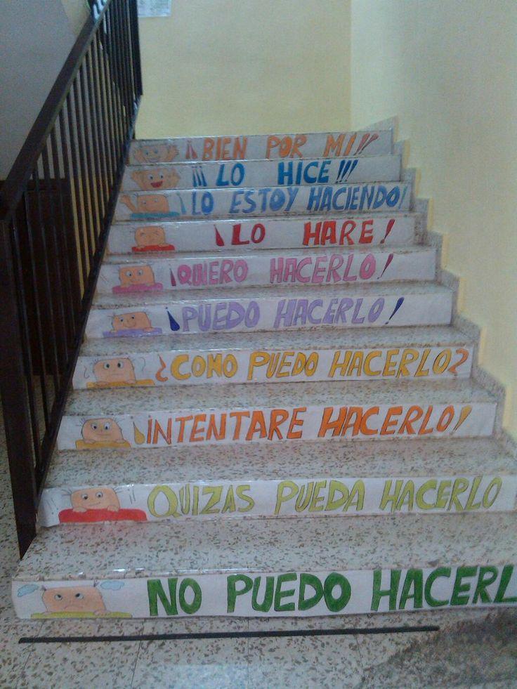 En el CEIP León Motta nuestas escaleras nos ayudan a lograr todo lo que nos proponemos. pic.twitter.com/LSjaB3ATsh