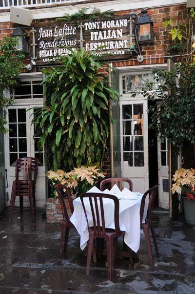 Tony Moran's Italian Restaurant | Bourbon street NOLA