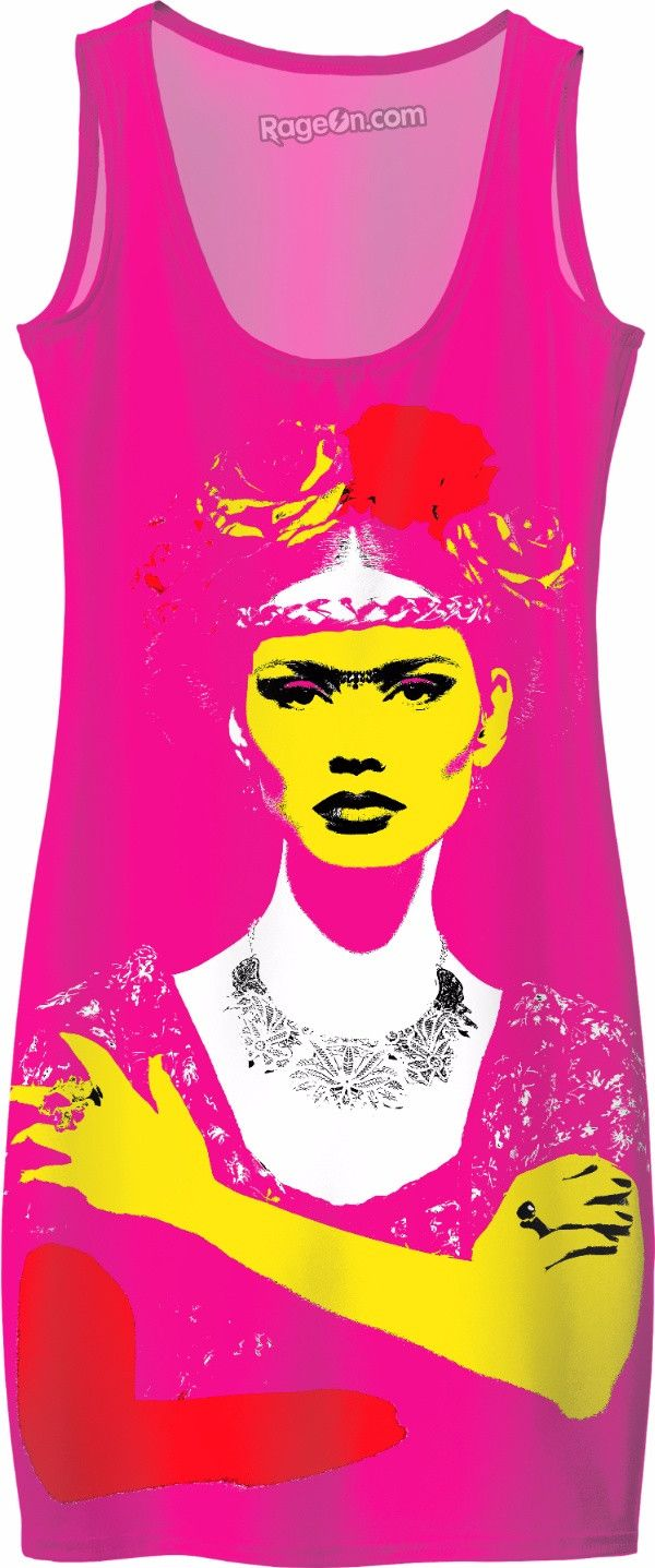 Check out my new product https://www.rageon.com/products/frida-kahlo-pink-dress on RageOn!