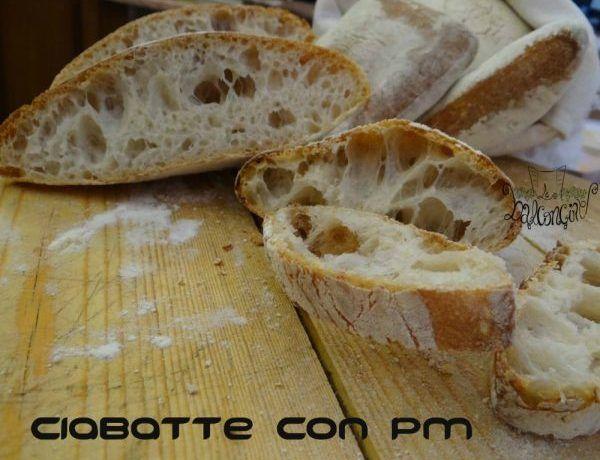 Ciabatte pane con pasta madre