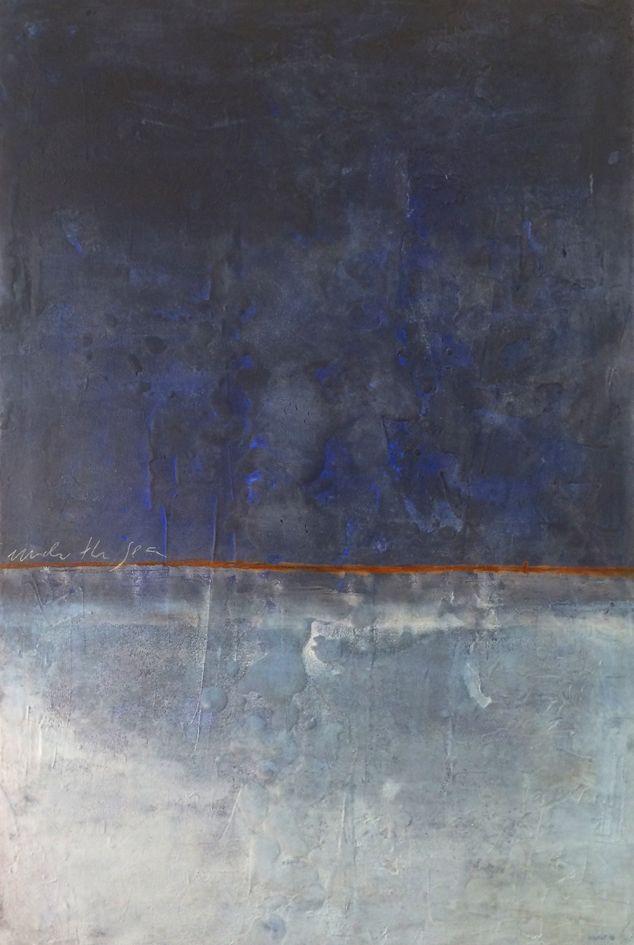 dekishi (2016) 100x150cm  mixed media on canvas daniel soukup