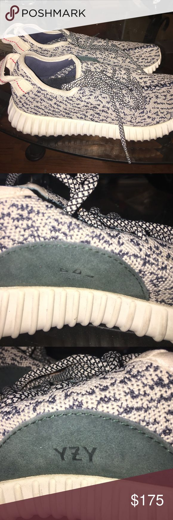 Yeezy Boost 350 Authentic Turtle Dove Yeezy Boost 350 Turtle Dove barely worn- like new authentic & negotiable!!! Adidas Shoes Sneakers