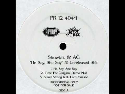 Showbiz and AG feat. Lord Finesse - He Say, She Say (1992)