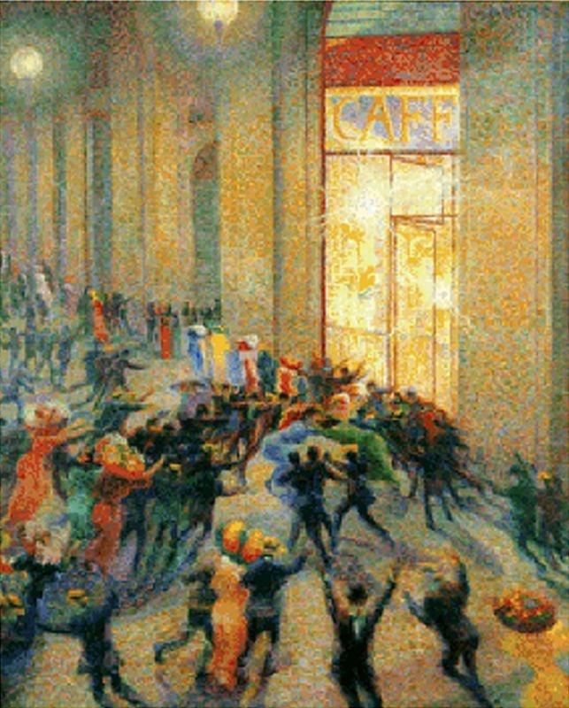 :: Umberto Boccioni :: Pánico en la Galería ::