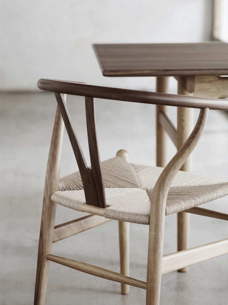 25 best ideas about Wishbone Chair on PinterestDining table