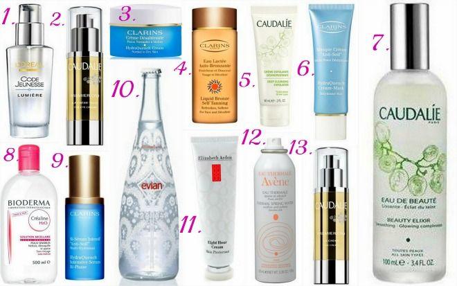 French beauty secrets: Skincare