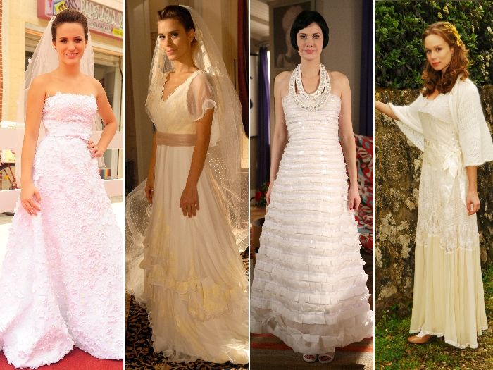 vestidos de noivas de novelas da globo - Pesquisa Google