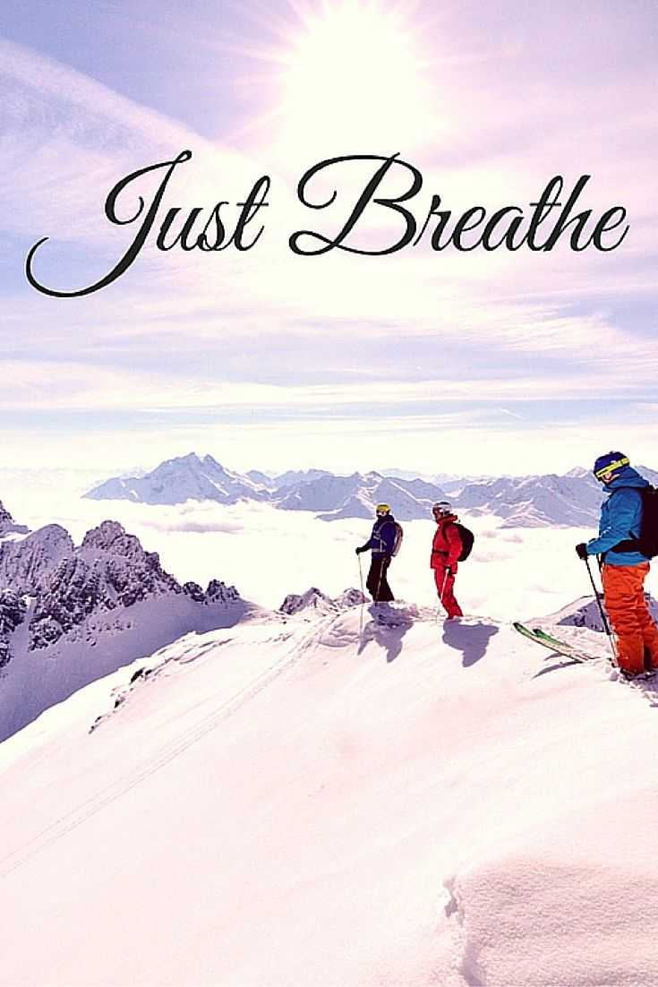 Breathe in the fresh mountain air! www.skibug.co.uk