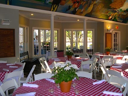 You could have your next event at the Visitors Center/Dockside at Piedmont Park. http://www.piedmontpark.org/facilities/facilities.html