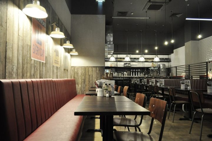 Handmade Burger Co by Brown Studio Sheffield Meadowhall  UK