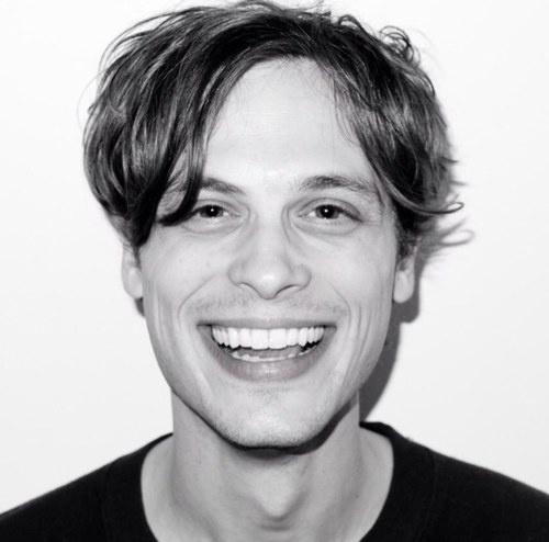 Matthew Gray Gubler <3 <3 <3 <3 that smile!!