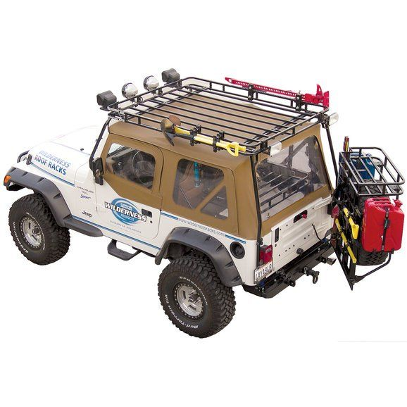 Garvin 34076 Wilderness Expedition Rack For 76 86 Jeep Cj 7 Jeep