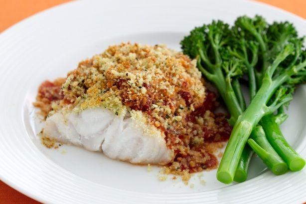 Baked Parmesan Fish | 1mrecipes
