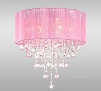 Gorg's Pink chandelier