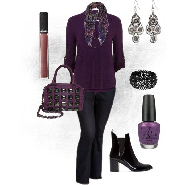 """""""plus size fall fashion"""" by penny-martin on Polyvore"""