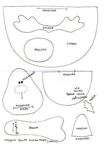 Paper piecing or appliqué idea  ¥