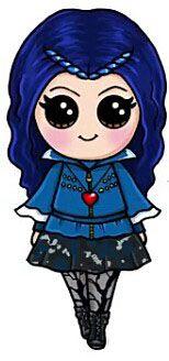 Evie My personaje favorito de Decendiente.