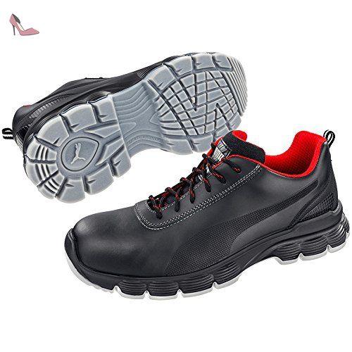 Puma 640521-202-47 Pioneer Chaussures de sécurité Low S3 ESD SRC Taille 47 - Chaussures puma (*Partner-Link)