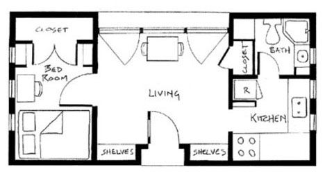 Tiny Houses Floor Plan Picture Alaska Modular Prefab Tiny