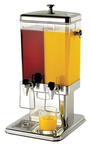 $307.99 - Tablecraft 70 Dual, Cold Beverage / Juice Dispenser, 3 Gallons