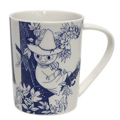 Pre Moomin Valley Mug Cup Botanical Snufkin My by Tove Jansson made in JPN