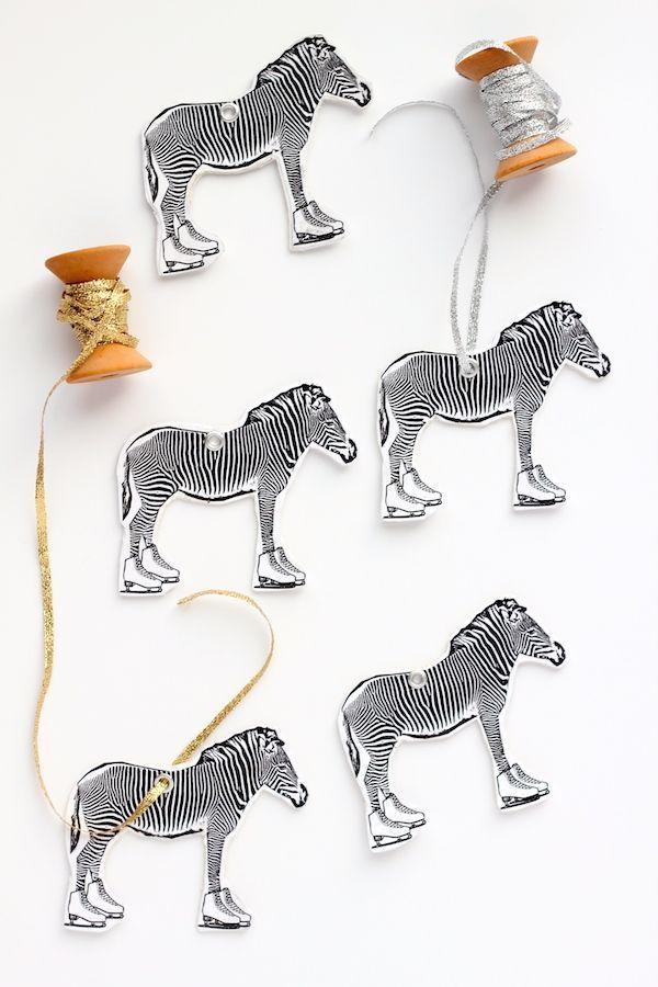 zelfgemaakte ornamenten