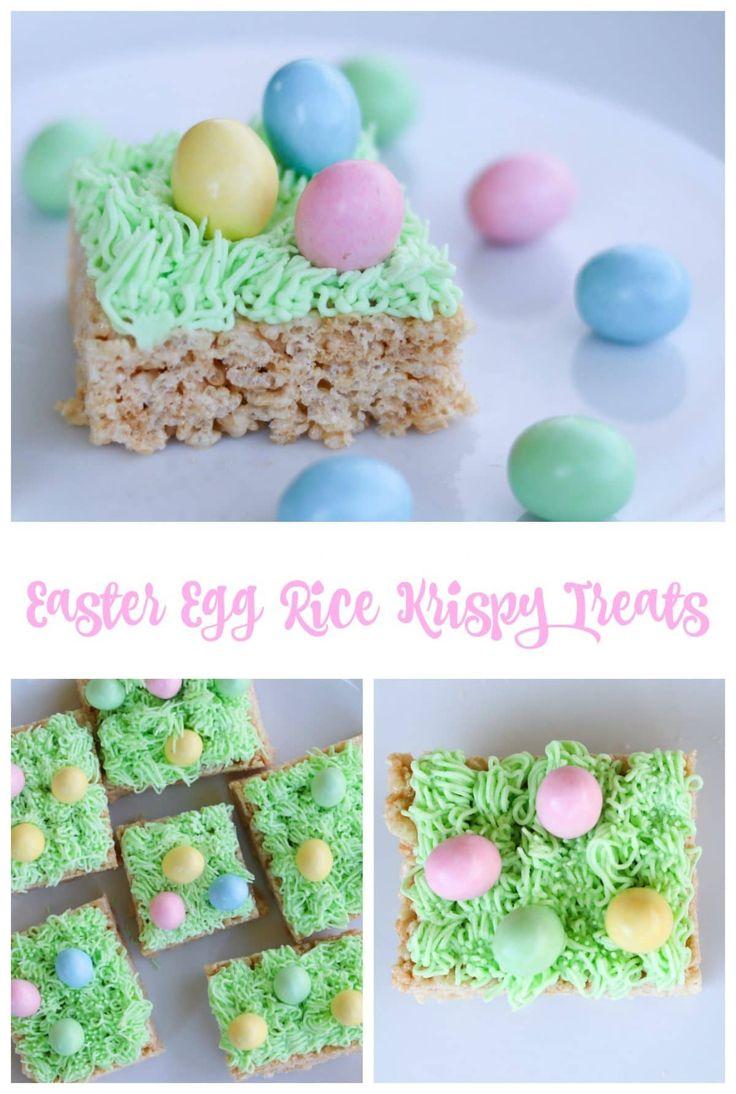 Easter Egg Rice Krispy Treats