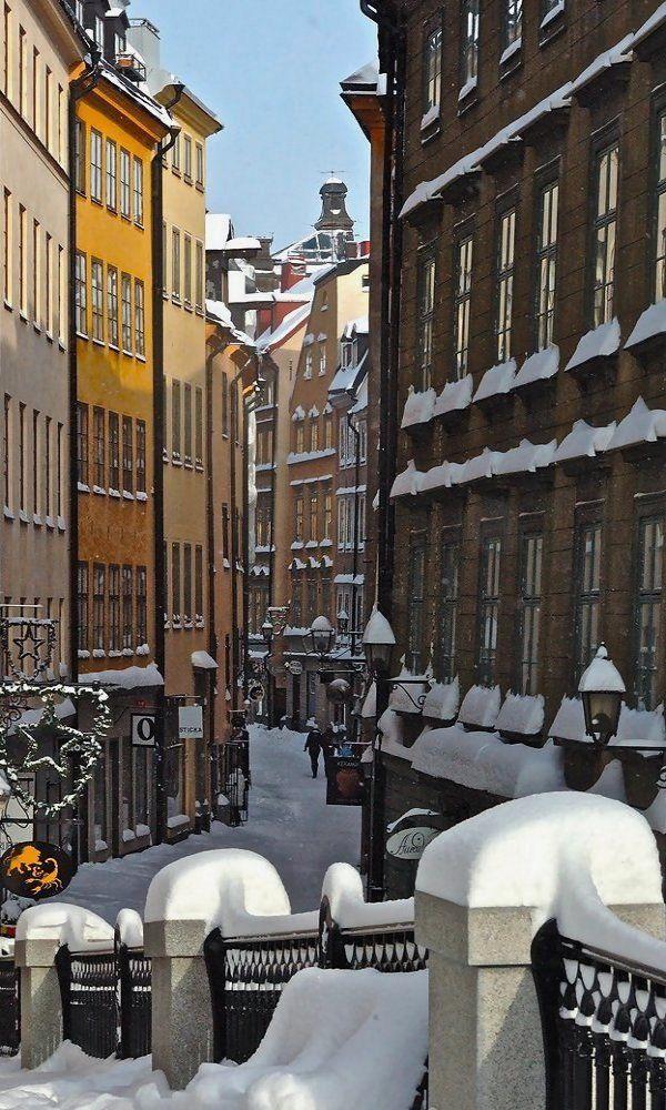Winter in Gamla Stan - Stockholm, Sweden | by Benjamí Monterde i Monguillot