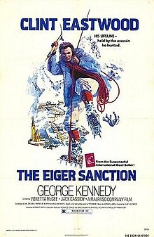 The Eiger Sanction (1975) Clint Eastwood, George Kennedy, Vonetta McGee, Jack Cassidy