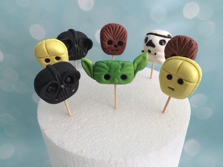 Star Wars Cup Cake Toppers