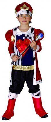 Boys Fancy Dress Costume King of Hearts (Age 9-12 years 130-140cm) Medieval Royalty fancy dress warehouse http://www.amazon.co.uk/dp/B004J2YXC6/ref=cm_sw_r_pi_dp_XECYvb1BGVS0S