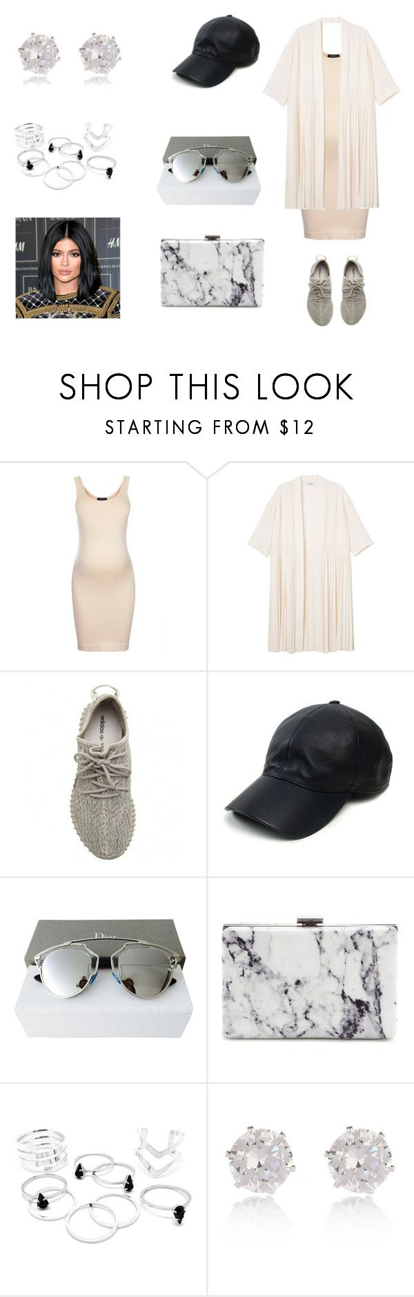 """""""Odd."""" by daniellepearce13 on Polyvore featuring Topshop, Monki, adidas Originals, Vianel, Christian Dior, Balenciaga, River Island and relaxed"""