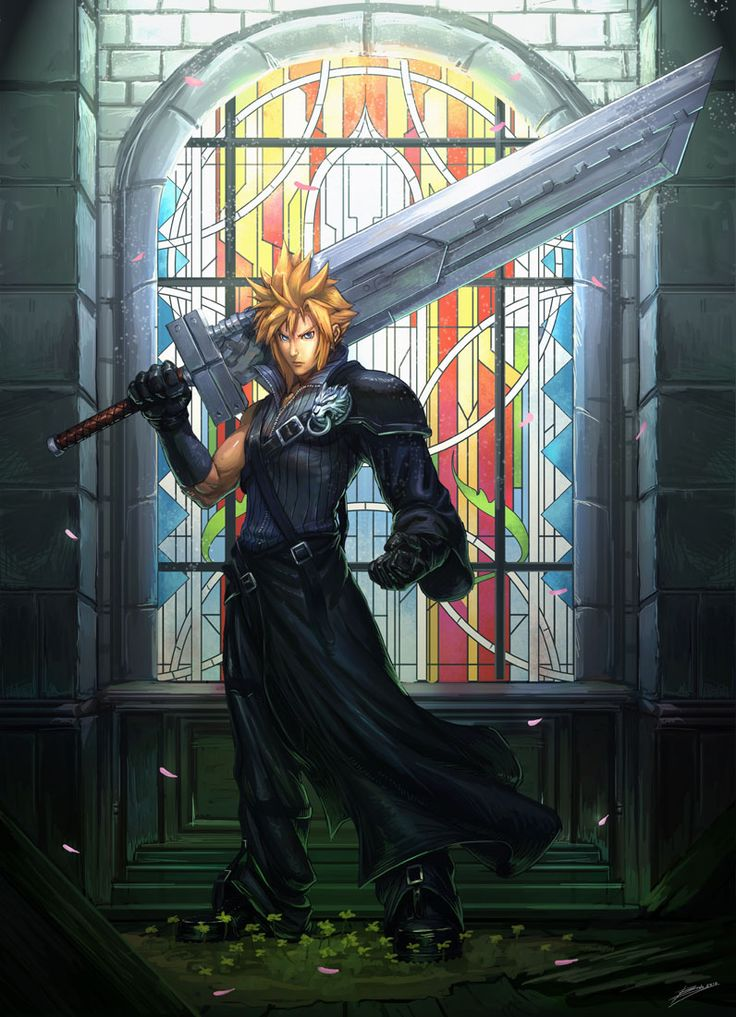 Cloud Comission by ~Brolo on deviantART