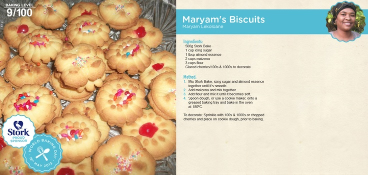 Maryam's biscuits