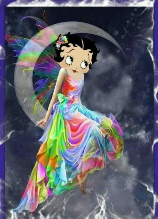 Betty Boop With Color