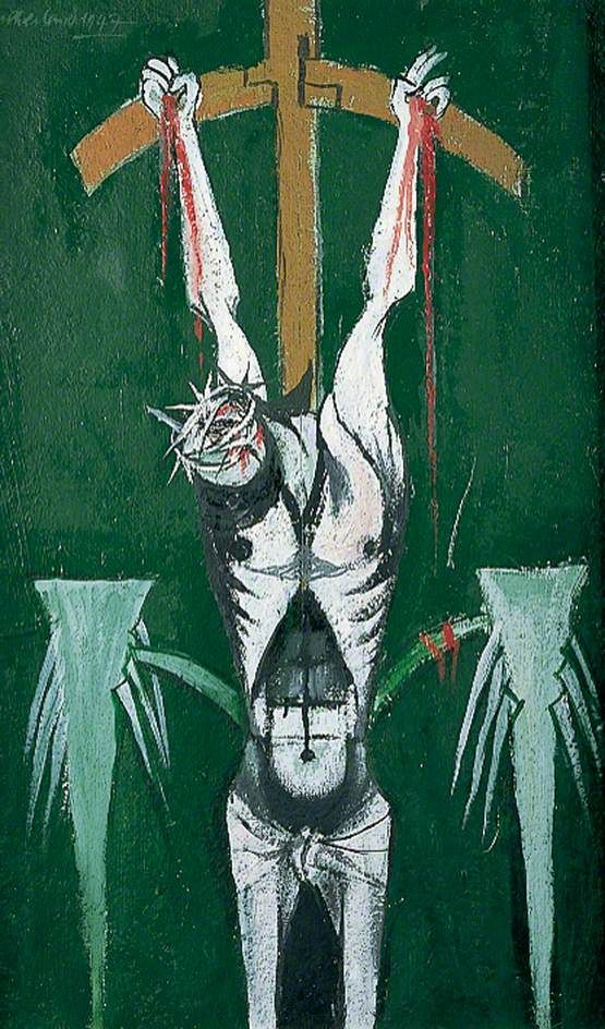 Crucifixion, 1947 by Graham Sutherland (English 1903–1980)