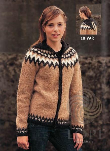 - Icelandic Var Women Wool Cardigan - Tailor Made - Nordic Store Icelandic Wool Sweaters  - 1