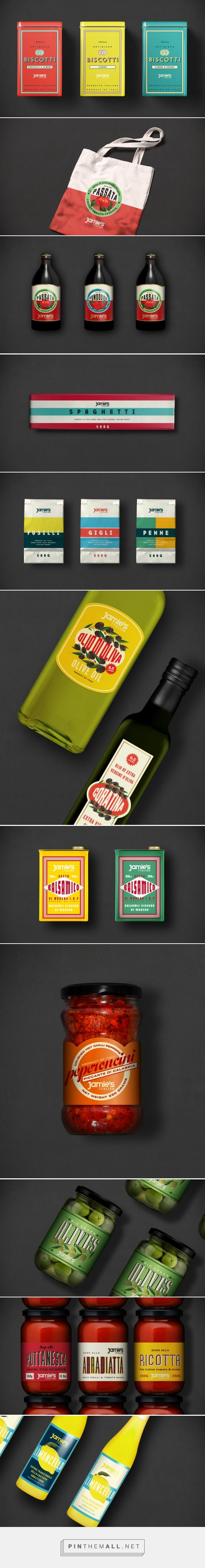 The Plant creates Jamie's Italian Deli Range packaging branding curated by Packaging Diva PD. Jamie's Italian uses authentic Italian ingredients sourced from small producers all around Italy.
